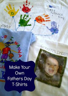 make your own father's day t shirt