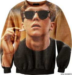 Anthony Michael Hall in sweater form? Can we just take a moment?