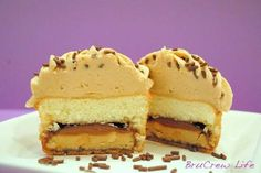 Food bloggers use Girl Scout Cookies as inspiration for recipes, Tagalong (aka Peanut Butter Patties) Cookie Cupcakes
