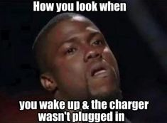 And left the charger at home bc you THOUGHT it was plugged in all night lol...