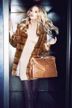 fur coat, camel fur