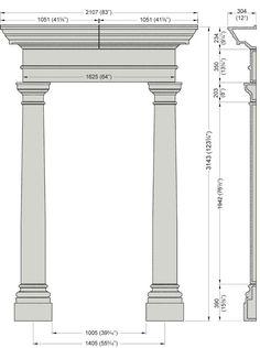 Georgian Door Surround