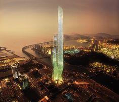 Busan Millennium Tower Business Center (WBCB) Asymptote Architecture