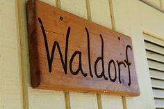 waldorf sign