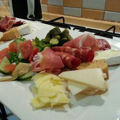 Cheese platter home made!