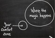 #magic #entrepreneurship #comfort