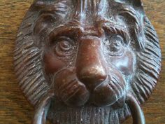 Vintage English Lion Door Knocker Traditional Style by EnglishShop, $62.00