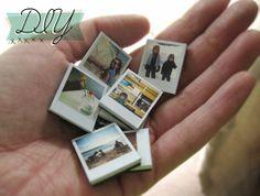 DIY: Tiny PolaroidMagnets