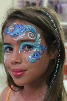 Under the sea fish face paint