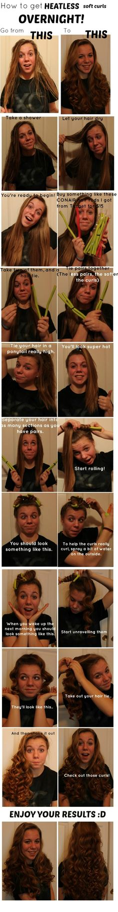 I'm so going to do this with my hair