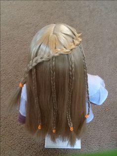 American girl doll hair ideas.