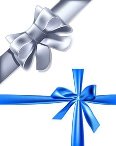 Blue and Silver Gift Ribbon Free Vector @freebievectors http://www.freebievectors.com/en/illustration/14294/blue-and-silver-ribbon/