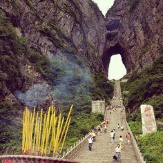 Fancy - Portal 661 instagram, mountain china, mountains, asia, travel, gates, place, tianmen mountain, heavens
