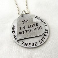 "One Direction ""Little Things"" Necklace"