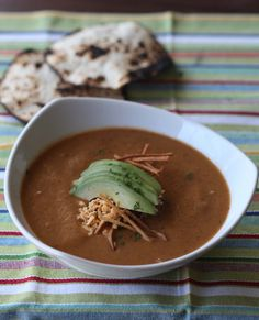 Tortilla Soup #vegan