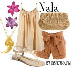 Nala  by Disneybound