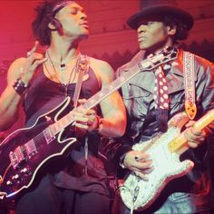 D'angelo x Jesse Johnson. (pic by Ouni)