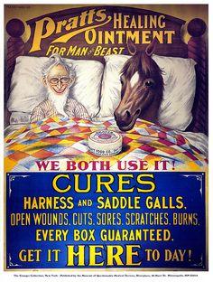 Ad for Patent Medicine  (FDA 161)