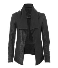 Datya Leather Jacket, Women, Leather, AllSaints Spitalfields