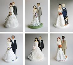 Paper Sculpture Cake Toppers from Concarta