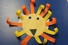 Integrating Math :  lion (zoo unit from Mrs. Lee)