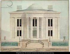 House designed by Alexander Jackson Davis.