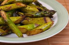 Kalyns Kitchen®: Recipe Update: Slow Roasted Asparagus  [#SouthBeachDiet friendly from Kalyn's Kitchen]