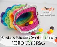 kiss crochet, bonbon kiss