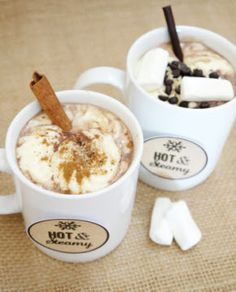 Hot Cocoa Bar and Party Printables