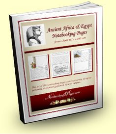 Free Ancient Egypt & Africa Notebooking Pages + HUGE Giveaway! (limited time)