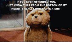 laugh, teddy bears, funni, humor, movie quotes