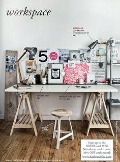 mesa de cavalete, aparador