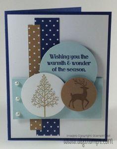 Sweet Winter Card! #stampinup #christmas #warmthandwonder