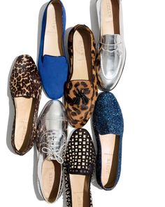 J.Crew mirror metallic oxfords. All Must Haves!