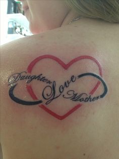My mother/daughter tattoo :)