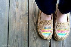 Crochet Tribal Moccasin Tutorial tutorials, tribal moccasin, crafti, moccasin tutori, crochet tribal, crochet moccasins, crochet idea
