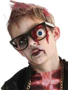 Dress up your kids and scare the heck out of them wearing these Zombie Costumes for Kids that is perfect for costume parties, school plays or...
