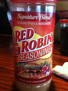 Red Robin Seasoning (for french fries) - Make your favorite Restaurant & Starbucks recipes at home with Replica Recipes! French Fri, Red Robin Seasoning