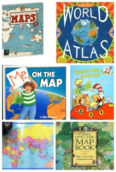 Learn about the world with map books and activities! #geography