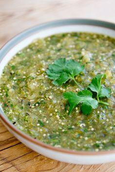 Anna's taqueria salsa verde