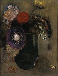 Odilon Redon French, 1840-1916 Created c. 1905
