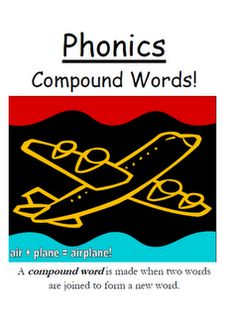 "Fern Smith's Phonics Center Game ""Compound Words!"""