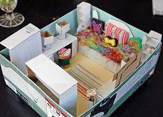 Scale Box Dream Bedroom: Volume / Area Unit