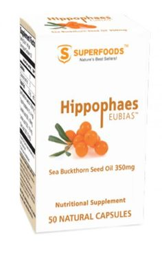 Hippophae Rhamnoides, Sea Buckthorn Seed Oil.   Natural nutritional supplement produced from the seeds of the sea buckthorn plant (Hippophae rhamnoides), one of oldest known plants. It is even believed to have been an integral part of Alexander The Great\'s army diet. According to legend, Alexander\'s soldiers noticed horses feeding on sea buckthorn developed shinier coats, thus the Greek etymology of the word hippophaes with hippos, meaning horse, and phaos meaning shiny.