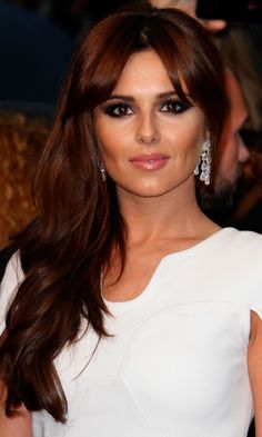 Love Cheryl Cole's beautiful, deep, rich shade of red hair color