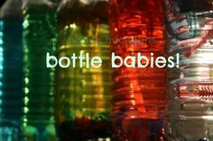 Bottle Babies - and the Benefits of Loose Parts for Play