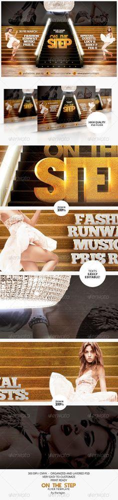 fashion flyer, concert, flyer templat, club parti, step flyer