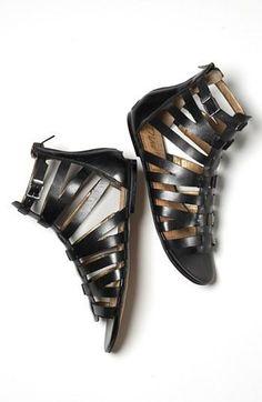 Yes! Short gladiator sandals for spring.