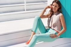 Brights for the summer #pastels #style #PANDORAmagazine