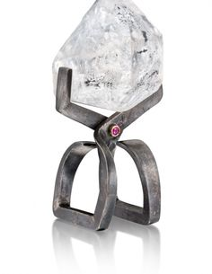"""Frozen in Time"" ring by Alan Revere for AJDC's ""Ice"" design concept"